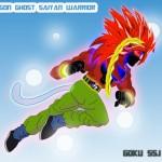 Goku Super Saiyan God of Ghost – level 21 was ready