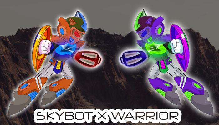 SKYBOT X WARRIOR 8 + 9