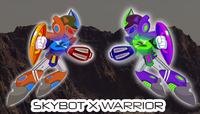 SKYBOT X WARRIOR 8 + 9