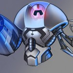 16 bosses and 8 weapons are supported for Skybot X Warrior