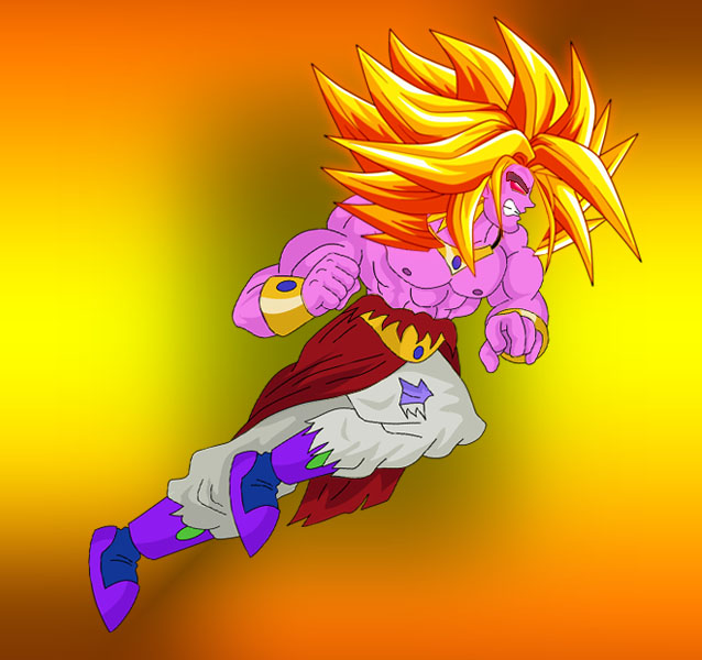 Broly Super Saiyan level 18