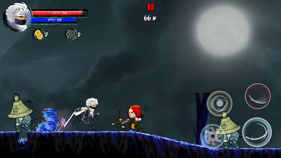 Easy to play ninja game